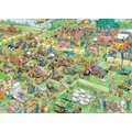 Jumbo Jan van Haasteren Lawn Mower Race Jigsaw Puzzle (1000 Pieces):