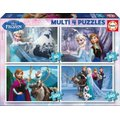 Educa Jigsaw Puzzle - Multi 4 in 1 - Frozen (50, 80, 100 & 150 Pieces):