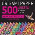 "Origami Paper 500 Sheets Kaleidoscope Patterns 6"" (15 CM) - 12 Double-Sided Designs (Kit): Tuttle Publishing"
