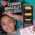 Gold Charm Bracelet Studio (Hardcover): Editors of Klutz