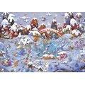 Heye Guillermo Mordillo Classique Winterland Jigsaw Puzzle (3000 Piece):