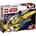 LEGO STAR WARS - Anakin's Jedi Starfighter (247 Pieces):