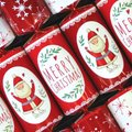 Merry Christmas Santa Crackers (6 Pack):