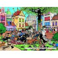 Jumbo Jan van Haasteren Get The Cat Jigsaw Puzzle (500 Pieces):