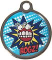 Rogz ID Tagz Metal Tag - Large 31mm (Comic Design):