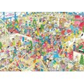 Jumbo Jan Van Haasteren The Winter Fair Jigsaw Puzzle (1000 Piece):