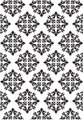 Embossing Folder - Diamond Damask (4x6):