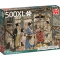 Jumbo Premium Collection Puzzle - Anton Pieck, The Grocery (500 XL Pieces):