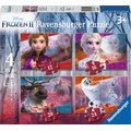 Ravensburger Disney Frozen II: Moments In Time Puzzles (4 in a Box):