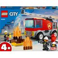 LEGO City - Fire Ladder Truck (88 Pieces):