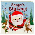 Santa's Big Day (Board book): Holly Berry-Byrd