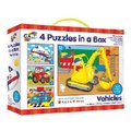 Galt 4 Puzzles in a Box (Vehicles):