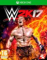 WWE 2K17 (XBox One, Blu-ray disc):