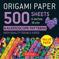 Origami Paper 500 sheets Kaleidoscope Patterns 4 (10 cm) (Loose-leaf): Tuttle Publishing