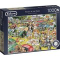 Jumbo Falcon Graham Thompson Jigsaw Puzzle Picnic In The Park (1000 Piece):