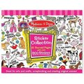 Melissa & Doug Sticker Collection - Pink: