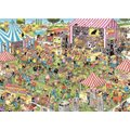 Jumbo Jan van Haasteren Pop Festival Jigsaw Puzzle (1000 Pieces):