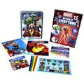 Avengers Happy Tin & Book Of Everything (Kit):