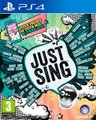 Just Sing (PlayStation 4, Blu-ray disc):
