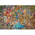 Clementoni Pontcheffs Harbour Crowded Jigsaw Puzzle (500 Piece):