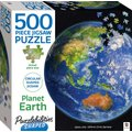 Puzzlebilities Shaped: Planet Earth (500 Piece) (Jigsaw): Simon Mendez