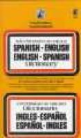 University of Chicago Spanish Dictionary - Spanish-English/English-Spanish (Spanish, English, Paperback, 4th edition): Carols...