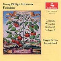 G. P Telemann / John Payne - Complete Works for Keyboard 1 (CD): G. P Telemann, John Payne