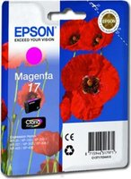Epson No.17 Magenta ink Cartridge (C13T17034A10):