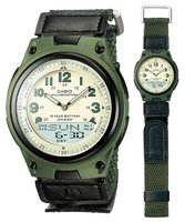 Casio AW-80V-3BV Watch with 10-Year Battery: