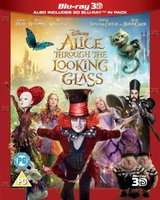 Alice Through The Looking Glass - 2D / 3D (Blu-ray disc): Mia Wasikowska, Johnny Depp, Anne Hathaway, Sacha Baron Cohen