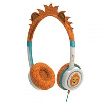 Ifrogz Little Rockers On-Ear Headphones (Orange & White):