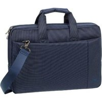 "RivaCase Central Briefcase for 15.6"" Notebooks (Blue):"