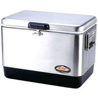 Coleman Stainless Steel Cooler (54qt):