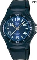 Q&Q Unisex Sport Wrist Watch with Blue Face and Strap: