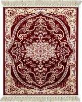 Lush Living Décor Rugs Darius (650 x 1100 | Red):