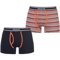 SoulCal Mens Aztec Boxers (Orange)(Pack of 2):