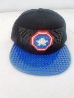 Building Blocks Cap (Captain America | Blue Peak):