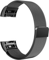 Linxure Milanese Strap for the Fitbit Charge 2 Black - Large: