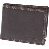 Paolo Rossi Genuine Leather Executive Range Wallet (Black):
