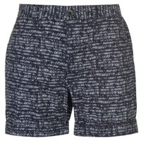 Pierre Cardin Mens Aztec Shorts - Navy  [Parallel Import]: