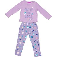 Girls PJ Set ( Lilac):