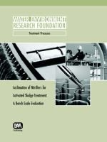Acclimation of Nitrifiers for Activated Sludge Treatment - A Bench Scale Evaluation (Paperback, New): Robert A. Zimmerman,...
