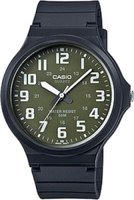 Casio Analog Wrist Watch (Black & Green):
