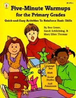 Five-Minute Warmups for the Primary Grades - Quick-And-Easy Activities to Reinforce Basic Skills (Paperback, illustrated...
