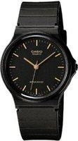 Casio Analog Wrist Watch (Black & Gold):