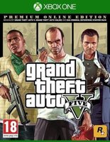 Grand Theft Auto V: Premium Online Edition (XBox One):