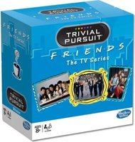 Friends Trivial Pursuit Bite Size Board Game: