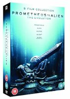 Prometheus To Alien: The Evolution - Prometheus / Alien / Aliens / Alien 3 / Alien Resurrection (DVD, Boxed set): Sigourney...