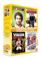 Comedy 4-Film Collection - Knocked Up / Superbad / The 40 Year Old Virgin / Talladega Nights (DVD): Seth Rogen, Katherine...