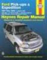 Ford pick-ups & Expedition, Lincoln Navigator automotive repair manual (Paperback): Jay Storer, John H. Haynes